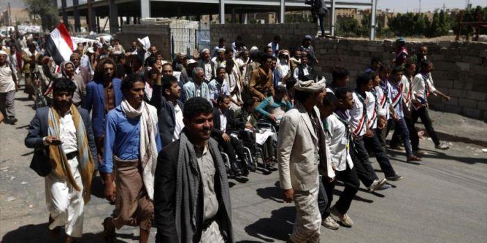 Foto yemen la protesta del pane contro l 39 aggressione for La capitale dell arabia saudita