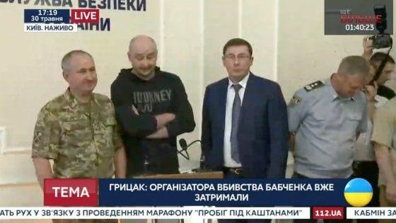 Babchenko è vivo e lotta insieme alla propaganda NATO
