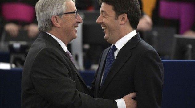 Renzi e Juncker, la lite immaginaria