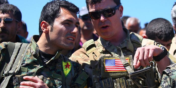 Risultati immagini per YPG and USA