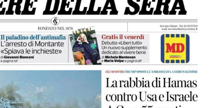 Gaza, il giorno dopo il massacro: la stampa italiana vile e bugiarda