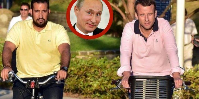 Lo scandalo Macron – Benalla (e l'AntiDiplomatico)? Una creatura di Putin. Lo attesta George Soros