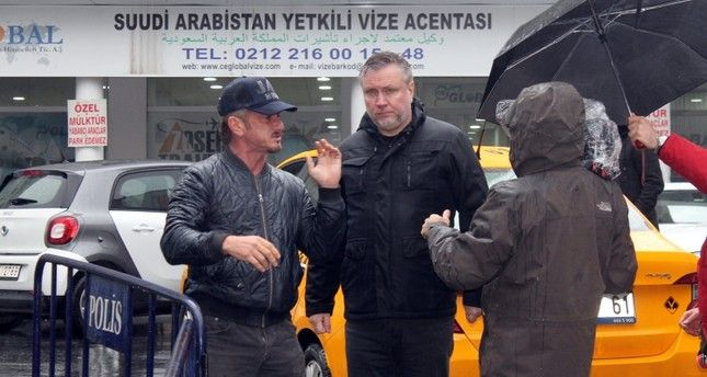 Sean Penn in Turchia per realizzare un documentario su Khashoggi