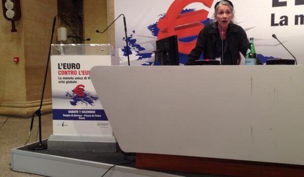 La fine dell'euro avverr� nel caos pi� totale per l'accanimento ideologico della classe politica. Brigitte Granville