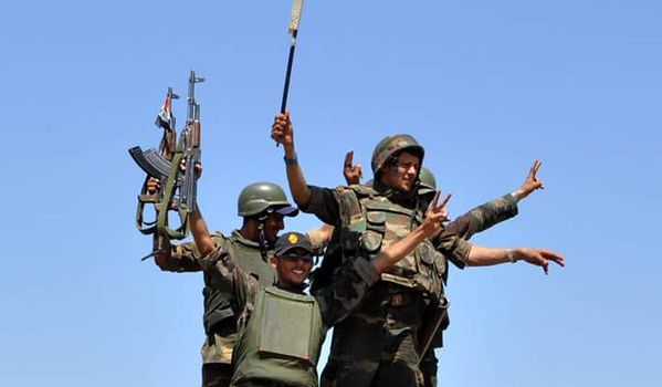 FOTO. L'Esercito Siriano libera la roccaforte dei terroristi di Al-Rabi'yah al confine con la Turchia