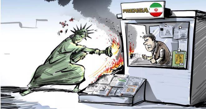 Terrorismo mediatico: il dipartimento del Tesoro americano blocca i domini Web dei media iraniani