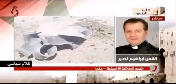 VIDEO. Padre Anglicano di Aleppo supplica il mondo di aiutare l'esercito siriano