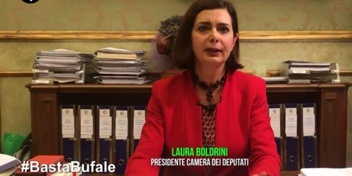Fake news, la marchetta delle Iene a Laura Boldrini