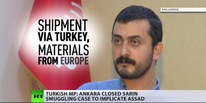 Deputato turco: Il gas sarin in Siria arrivato dalla Turchia. L'Isis lo ha usato nel 2013