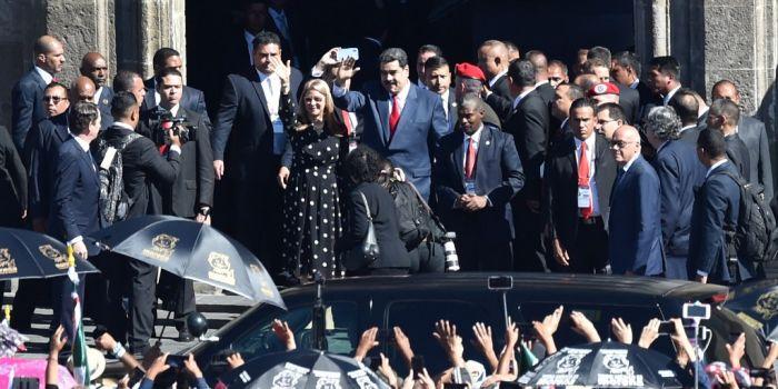 Maduro acclamato in Messico. Cadono anni di fake news