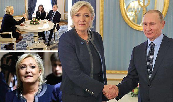 6b1d45e21b0e Primo incontro Putin-Le Pen  ecco l asse che può demolire l Unione ...