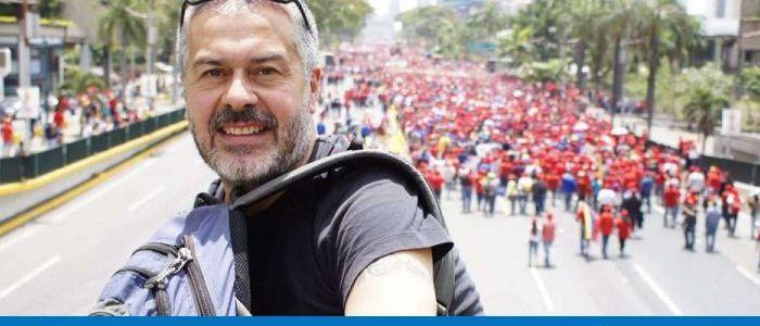 José Muñoz Alcoholado. Cileno, chavista, ucciso dalla violenza fascista e dall'oblio dei media