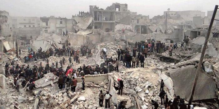 Aleppo è come Stalingrado e l'occidente si schiera con i nazisti (dell'Isis)