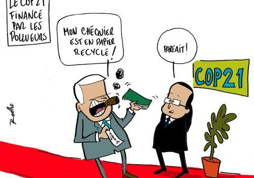La conferenza sul clima di Parigi sarà sponsorizzata dalle multinazionali inquinanti?