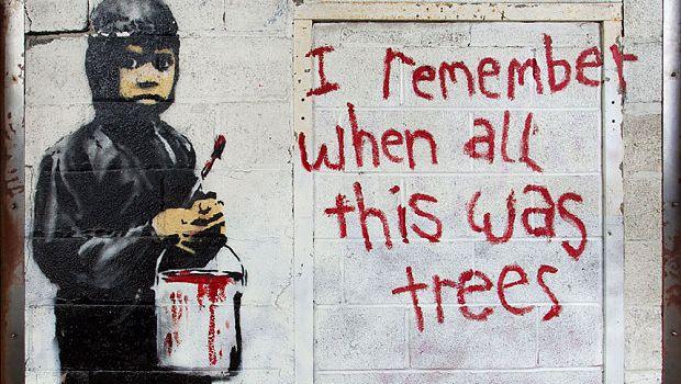 Banksy a Roma: in mostra 150 delle sue opere