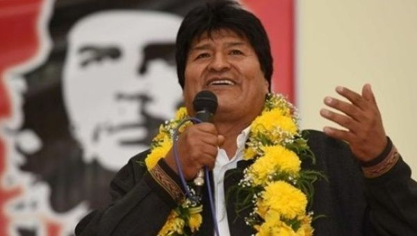 L'omaggio di Evo Morales al Che: «Oggi più necessario che mai»