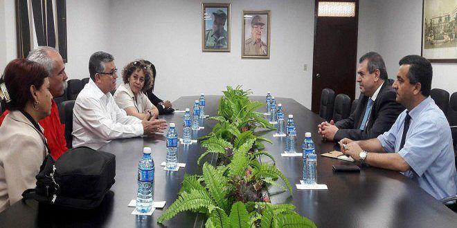 Cuba: sosteniamo la Siria e apprezziamo la sua fermezza contro il terrorismo e l'imperialismo