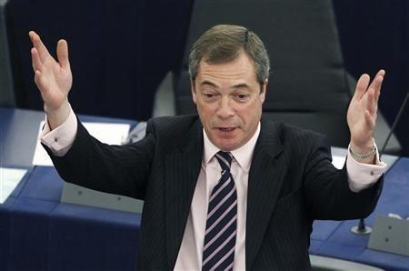 Farage: Non c'� alcun consenso popolare verso gli Stati Uniti d'Europa
