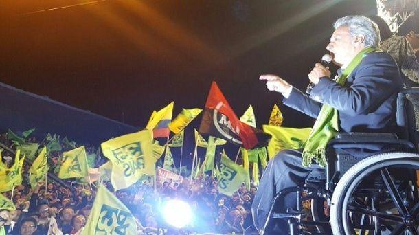 Ecuador, la Revoluciòn ciudadana sconfigge il banchiere: Lenin Moreno presidente