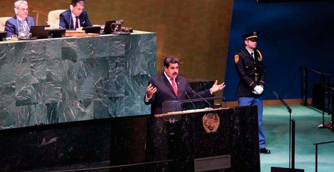 Venezuela, lezioni di sovranità all'Assemblea dell'Onu