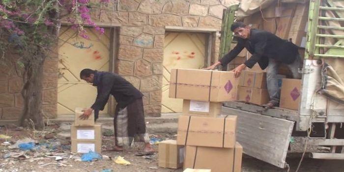 FOTO. Yemen, l'Arabia Saudita appoggiata dagli USA ha distrutto 412 centri medici e  l'Organizzazione mondiale della Sanità distribuisce farmaci scaduti