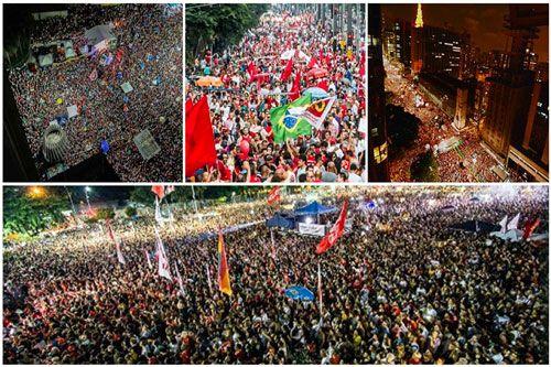 Mobilitazione popolare e ampia unità per sconfiggere il governo golpista del Brasile