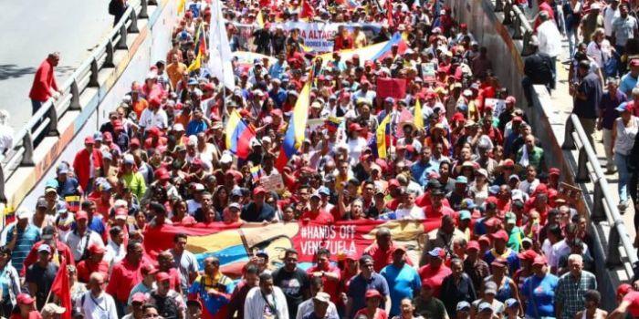 Venezuela. Grande manifestazione a Caracas per la pace e la sovranità oscurata dai media internazionali (VIDEO)