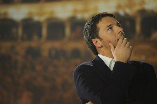 Il blog americano Zero Hedge definisce da infermità mentale le dichiarazioni di Renzi del bicchiere mezzo pieno