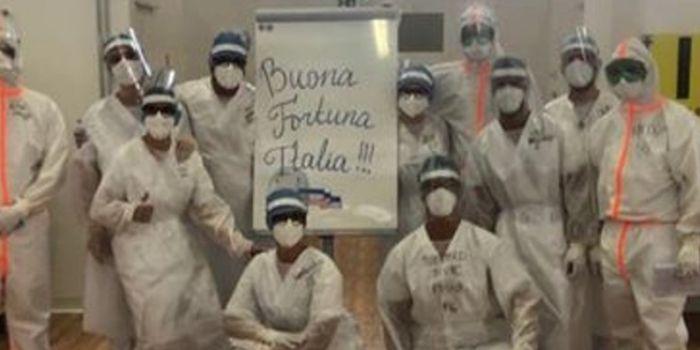 Ripartono i medici russi. Indifferenza di media e politica, ma arriva il grazie più importante