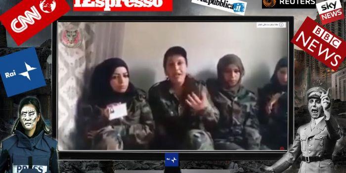 Le soldatesse prostitute di Assad: la nuova bufala sulla Siria targata Espresso (gruppo De Benedetti)
