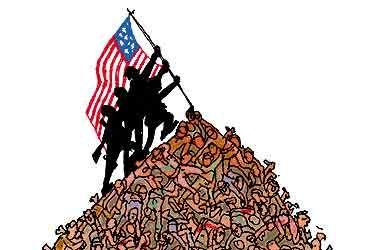 Giorno della Memoria: Pregare per la pace mentre si guida una guerra globale. Come definite gli Usa?