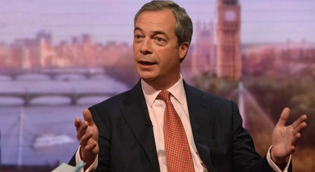 Farage: con i 5 Stelle al 110%